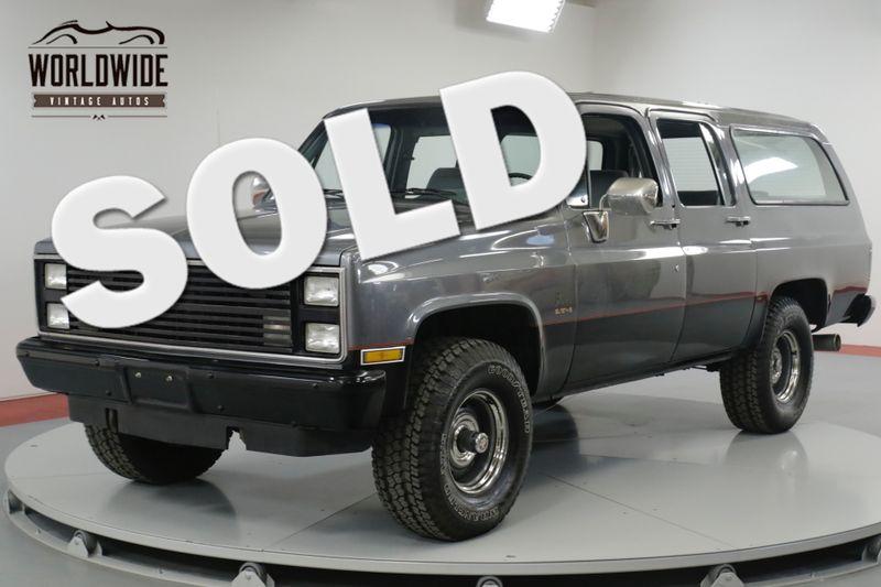 1987 Chevrolet SUBURBAN 4x4! EXTENSIVE $45K+ BUILD! SUPERCHARGED. LS! AC | Denver, CO | Worldwide Vintage Autos