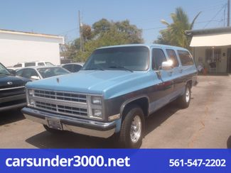 1987 Chevrolet Suburban Lake Worth , Florida