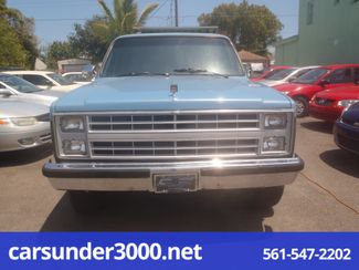 1987 Chevrolet Suburban Lake Worth , Florida 4
