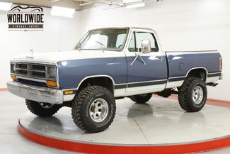 1987 Dodge W150 POWER RAM D150 4X4 V8 COLD AC! PS PB RARE | Denver, CO | Worldwide Vintage Autos in Denver CO