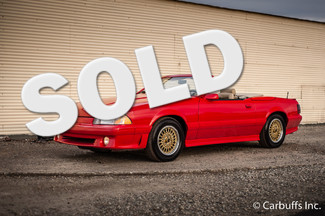 1987 Ford ASC McLaren Mustang Convertible | Concord, CA | Carbuffs in Concord
