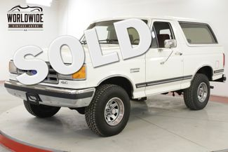 1987 Ford BRONCO COLLECTOR TIME CAPSULE 4x4 PSPB AC LOW MILES | Denver, CO | Worldwide Vintage Autos in Denver CO