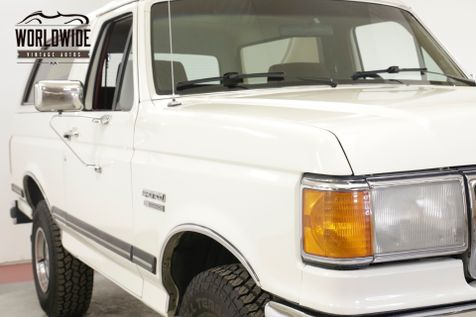 1987 Ford BRONCO COLLECTOR TIME CAPSULE 4x4 PSPB AC LOW MILES | Denver, CO | Worldwide Vintage Autos in Denver, CO