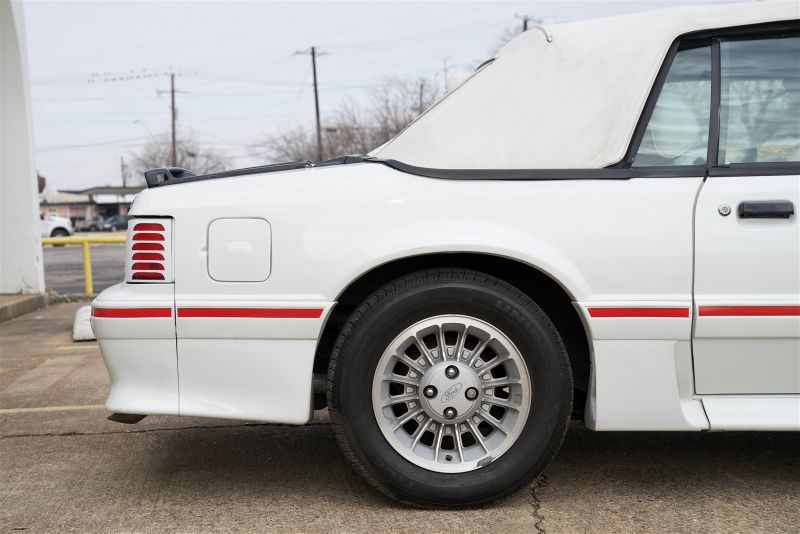 1987 Ford Mustang GT CONV, ONLY 27,999 ACTUAL MILES, CLEAN CARFAX in Rowlett, Texas