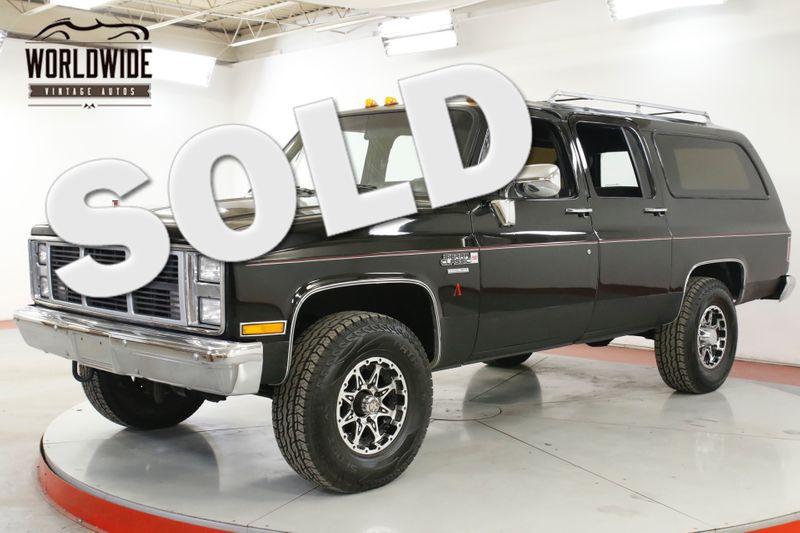 1987 GMC SUBURBAN  4x4. 3/4 TON. RESTORED V8 PS PB AC DISC 15K MILES | Denver, CO | Worldwide Vintage Autos