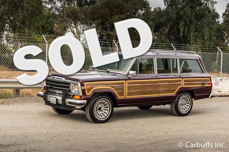 1987 Jeep Grand Wagoneer  | Concord, CA | Carbuffs