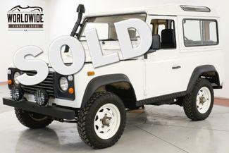 1987 Land Rover DEFENDER  SANTANA DIESEL 5 SPEED LHD DRY LOW MILES | Denver, CO | Worldwide Vintage Autos in Denver CO