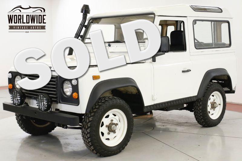 1987 Land Rover DEFENDER  SANTANA DIESEL 5 SPEED LHD DRY LOW MILES   Denver, CO   Worldwide Vintage Autos