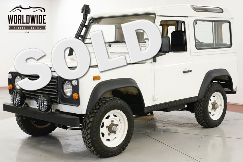 1987 Land Rover DEFENDER  SANTANA DIESEL 5 SPEED LHD DRY LOW MILES | Denver, CO | Worldwide Vintage Autos