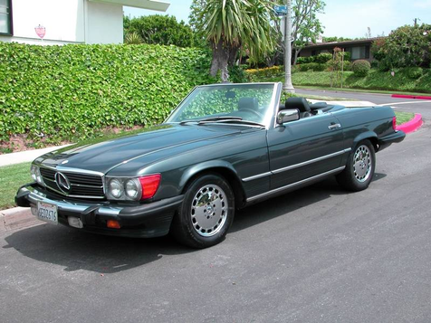 1987 Mercedes-Benz 560 SL Convertible, Hard and Soft Top  Super Clean, Full Service Records in , California