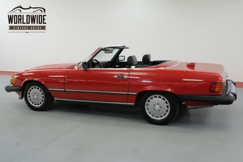 1987 Mercedes-Benz 560SL RARE RED WITH BLACK SOFT TOP A/C BLOWS COLD | Denver, CO | Worldwide Vintage Autos in Denver, CO