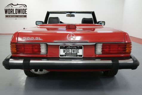 1987 Mercedes-Benz 560SL RARE RED WITH BLACK SOFT TOP A/C BLOWS COLD   Denver, CO   Worldwide Vintage Autos in Denver, CO