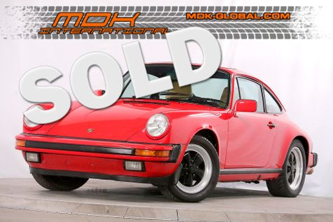 1987 Porsche 911 Carrera - Coupe - G50 - resealed engine in Los Angeles