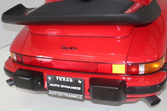 1987 Porsche 911 Turbo Cab Slant Nose Houston, Texas 14