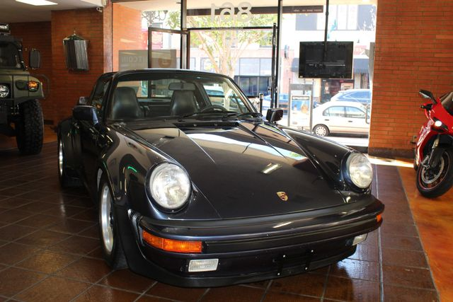 1987 Porsche 911 Carrera Targa Wide Body Turbo Look M491 San Diego, California 56