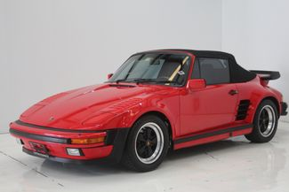 1987 Porsche 911 Turbo Cab Slant Nose Factory Slant Nose Houston, Texas