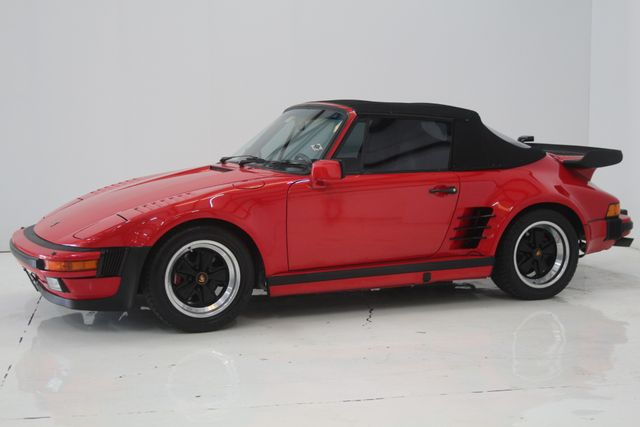 1987 Porsche 911 Turbo Cab Slant Nose Factory Slant Nose Houston, Texas 1