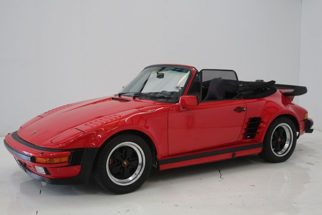 1987 Porsche 911 Turbo Cab Slant Nose Factory Slant Nose Houston, Texas 10