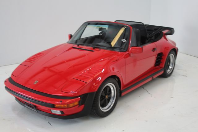 1987 Porsche 911 Turbo Cab Slant Nose Factory Slant Nose Houston, Texas 11