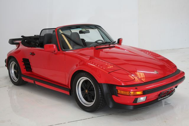 1987 Porsche 911 Turbo Cab Slant Nose Factory Slant Nose Houston, Texas 12