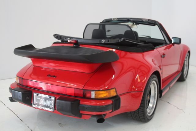 1987 Porsche 911 Turbo Cab Slant Nose Factory Slant Nose Houston, Texas 13