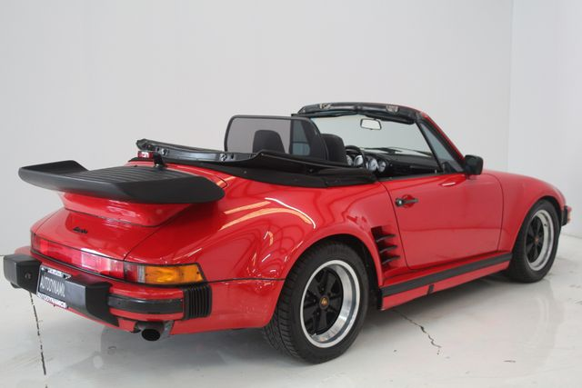 1987 Porsche 911 Turbo Cab Slant Nose Factory Slant Nose Houston, Texas 14