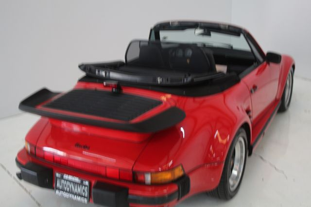 1987 Porsche 911 Turbo Cab Slant Nose Factory Slant Nose Houston, Texas 16