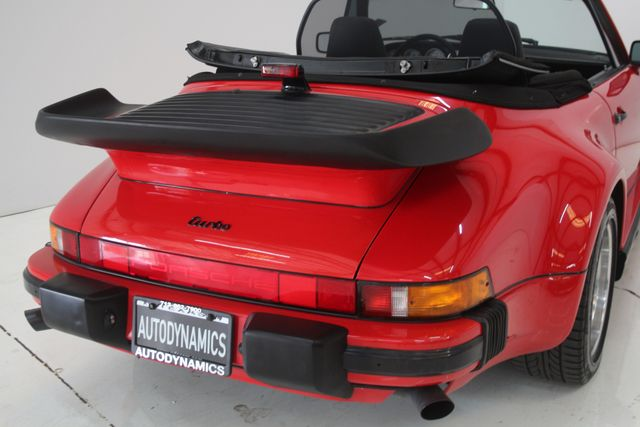 1987 Porsche 911 Turbo Cab Slant Nose Factory Slant Nose Houston, Texas 17