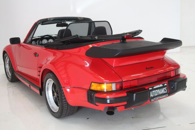 1987 Porsche 911 Turbo Cab Slant Nose Factory Slant Nose Houston, Texas 18