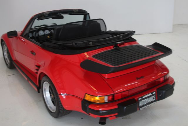 1987 Porsche 911 Turbo Cab Slant Nose Factory Slant Nose Houston, Texas 19