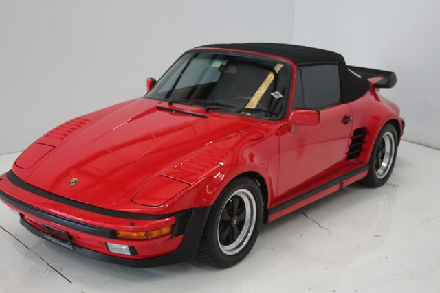 1987 Porsche 911 Turbo Cab Slant Nose Factory Slant Nose Houston, Texas 2