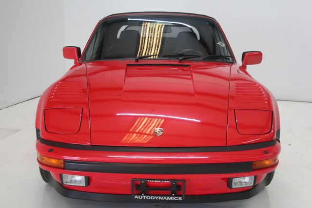 1987 Porsche 911 Turbo Cab Slant Nose Factory Slant Nose Houston, Texas 3