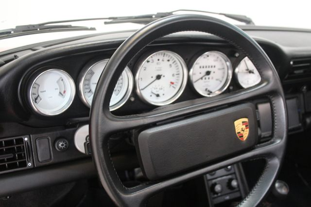 1987 Porsche 911 Turbo Cab Slant Nose Factory Slant Nose Houston, Texas 32
