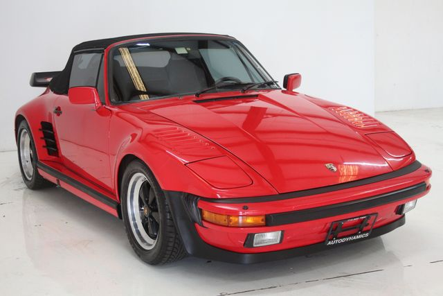 1987 Porsche 911 Turbo Cab Slant Nose Factory Slant Nose Houston, Texas 4