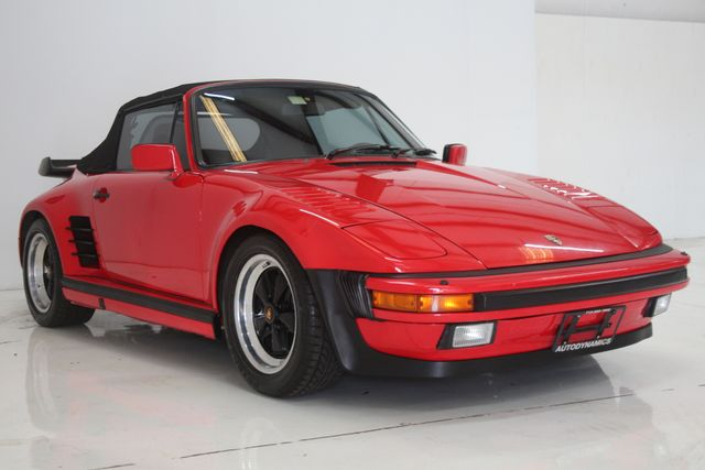1987 Porsche 911 Turbo Cab Slant Nose Factory Slant Nose Houston, Texas 5