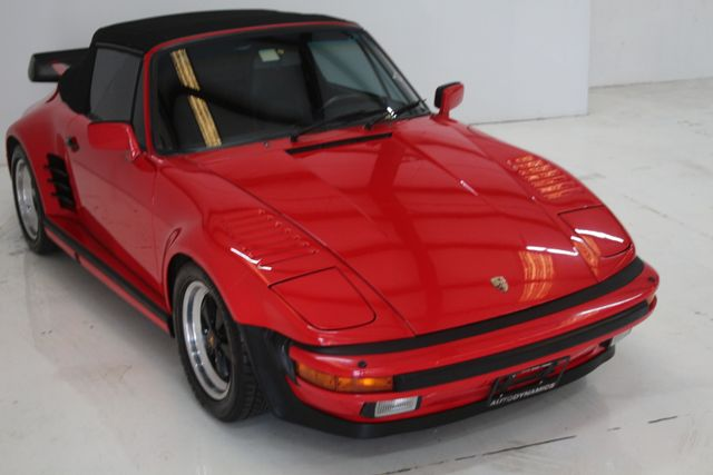 1987 Porsche 911 Turbo Cab Slant Nose Factory Slant Nose Houston, Texas 6