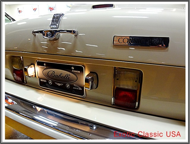 1987 Rolls-Royce Corniche II San Diego, California 47