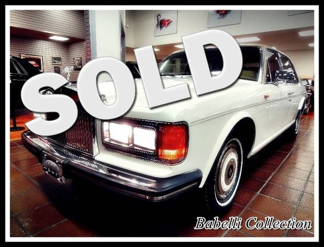 1987 Rolls-Royce SILVER SPUR  Only 22000 Miles One Owner Car La Jolla, Califorina