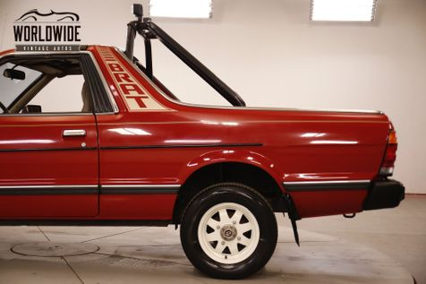 1987 Subaru BRAT COLLECTOR GRADE ULTRA LOW MILES AC 4WD RARE | Denver, CO | Worldwide Vintage Autos in Denver, CO