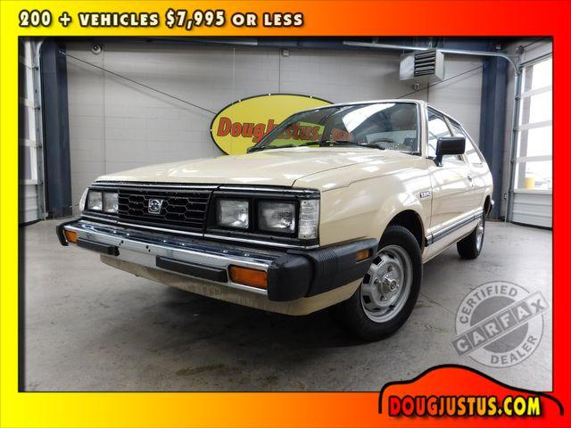 1987 Subaru Hatchback