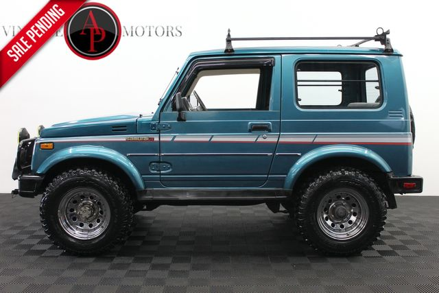 1987 Suzuki Samurai DELUXE RARE WITH HARD TOP 79K