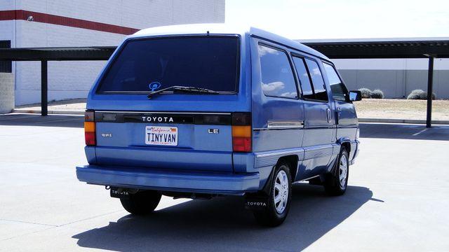 1987 Toyota 7 PASSENGER VAN LE Phoenix, Arizona 12