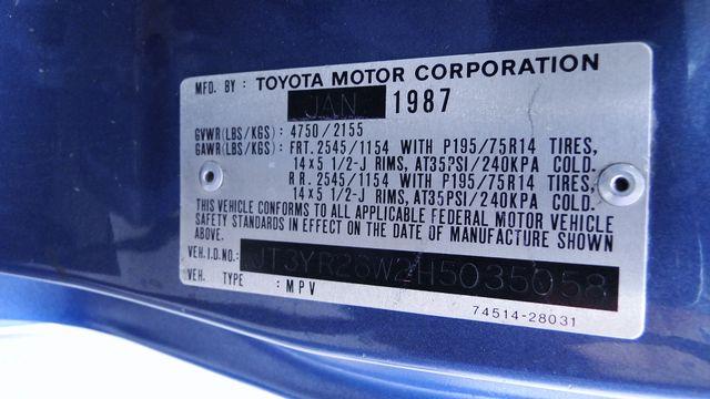 1987 Toyota 7 PASSENGER VAN LE Phoenix, Arizona 26