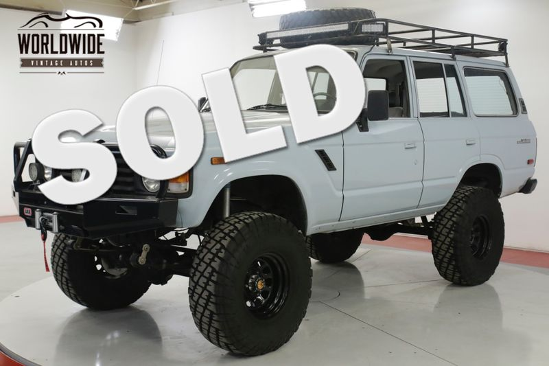 1987 Toyota LAND CRUISER  FJ60 FUEL INJECTED LS CUSTOM LIFT RACK | Denver, CO | Worldwide Vintage Autos