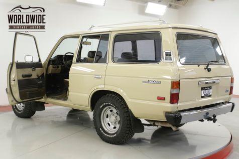 1987 Toyota LAND CRUISER FJ60 4X4, 4 SPEED  | Denver, CO | Worldwide Vintage Autos in Denver, CO