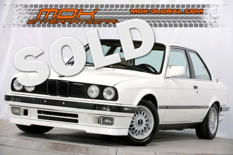 1988 BMW 3 Series 325 - Manual  - New interior in Los Angeles