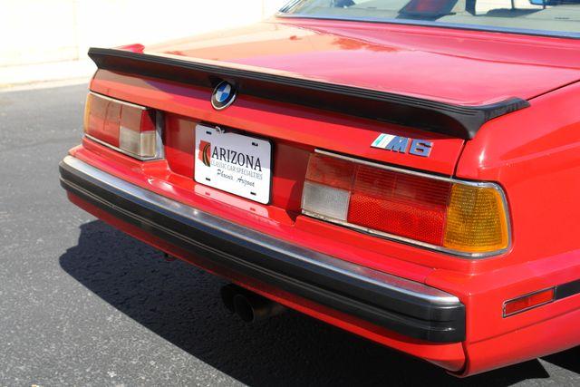 1988 BMW M6 Phoenix, AZ 3