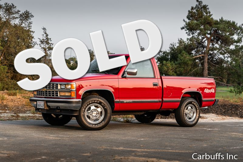 1988 Chevrolet K1500 4x4  Shortbed Fleetside | Concord, CA | Carbuffs