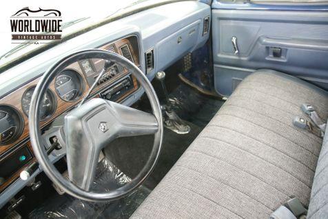 1988 Dodge POWER RAM  W100 TRUCK 10K MI 4X4 V8 PS PB ROLL BAR | Denver, CO | Worldwide Vintage Autos in Denver, CO