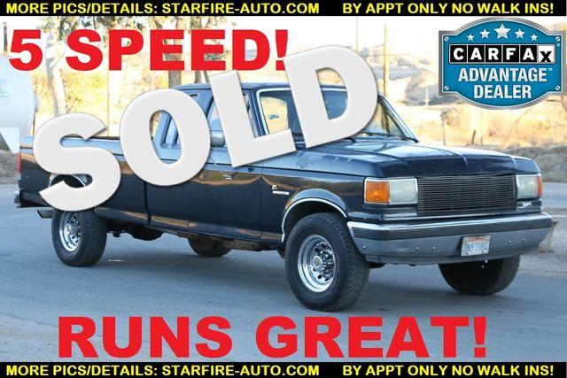 1988 Ford 3/4 Ton Trucks F250 GASOLONE SRW Santa Clarita, CA